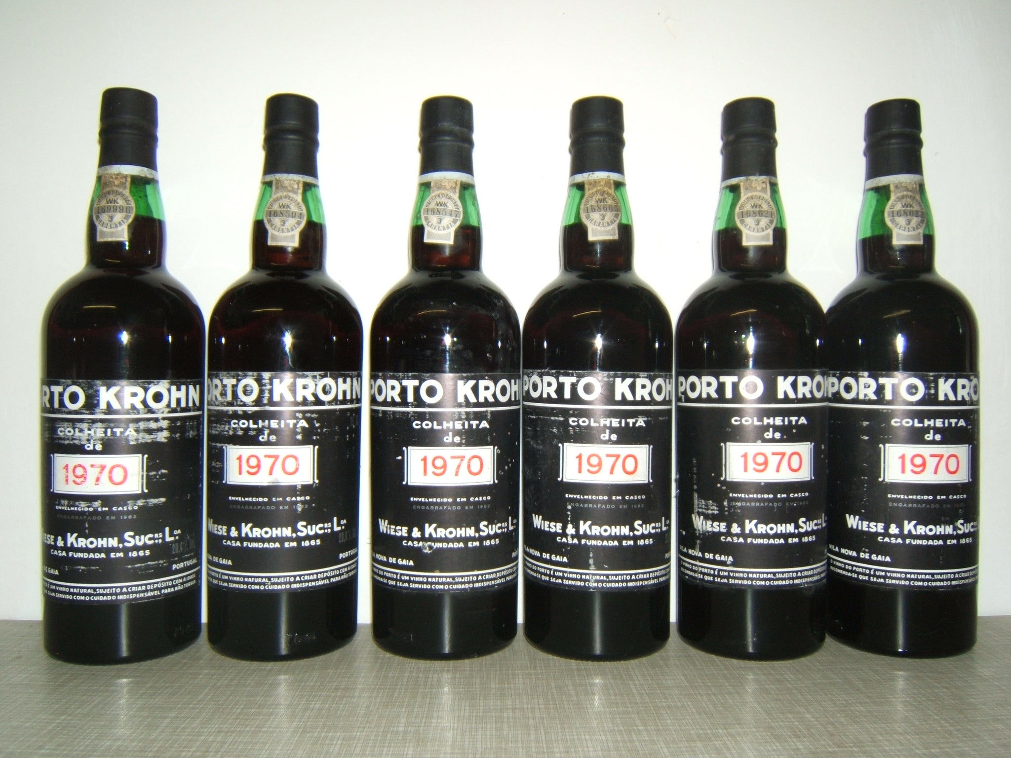 Wiese Krohn vintage port 1970  - 75cl bt