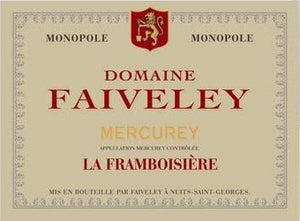 Faiveley Dom. Mercurey la Framboisière 2014 - case of 6