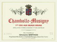 Ghislaine Barthod Chambolle Musigny 1er Cru Aux Beau Bruns 2016 - case of 3 (in bond)