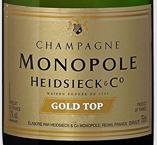Charles Heidsieck Monopole Gold Top 2005 - 75cl bt