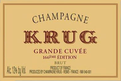 Krug Edition 166 - 75cl bt