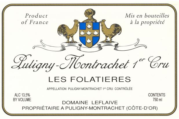Leflaive Dom. Puligny Montrachet 1er Cru Folatieres 2017 - case 6