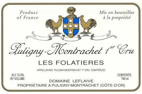 Leflaive Dom. Puligny Montrachet 1er Cru Folatieres 2015 - case 6