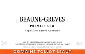 Tollot Beaut Beaune Greves 1er Cru 2001 - 75cl bt