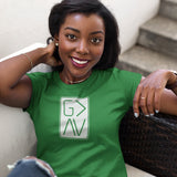 """God IS Greater"" Women's Classic Fit Tee - Aligned Blessings.com"