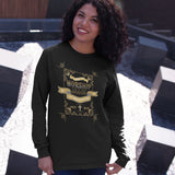 """Made to Worship"" Modern Faith Long Sleeve Tee - Aligned Blessings.com"