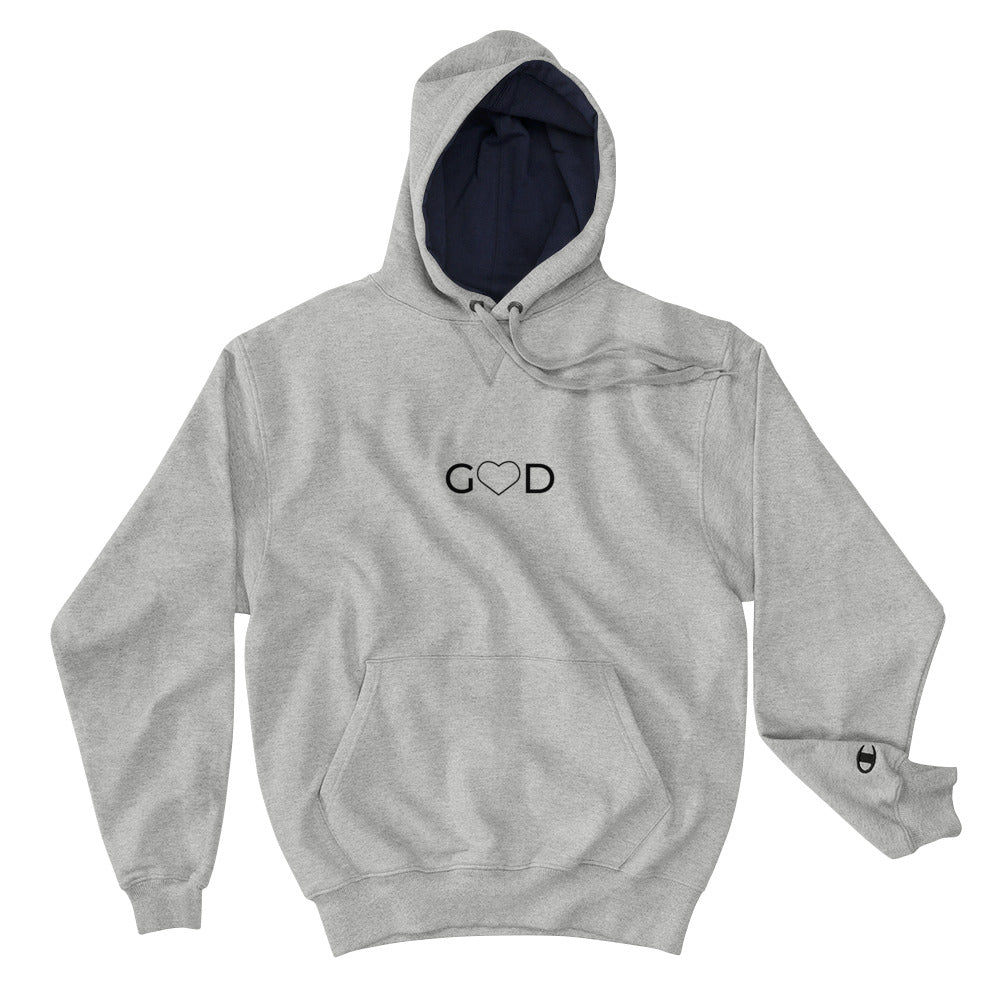 "Champion ""HIM"" Unisex Hoodie - Aligned Blessings.com"