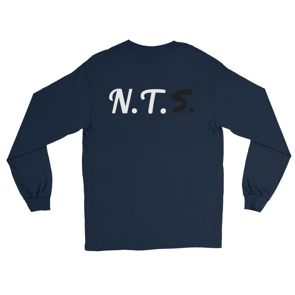 """Not Today"" Long Sleeve T-Shirt - Aligned Blessings.com"