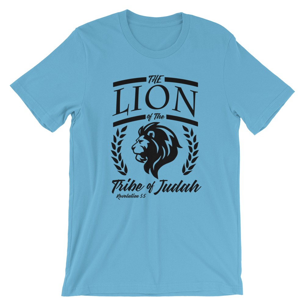 """Lion of Judah"" Unisex Faith Tee - Aligned Blessings.com"