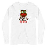 """No Fear - In Love"" Bella Long Sleeve Tee - Aligned Blessings.com"