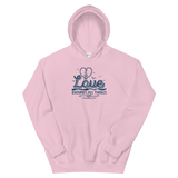 """Love Endures"" Super Warm Faith Hoodie - Aligned Blessings.com"