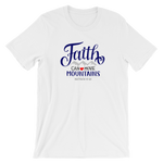 """Faith Can Move Mountains"" Jersey Tee"