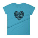 """Your Treasure"" Women's Classic Fit Faith Tee - Aligned Blessings.com"