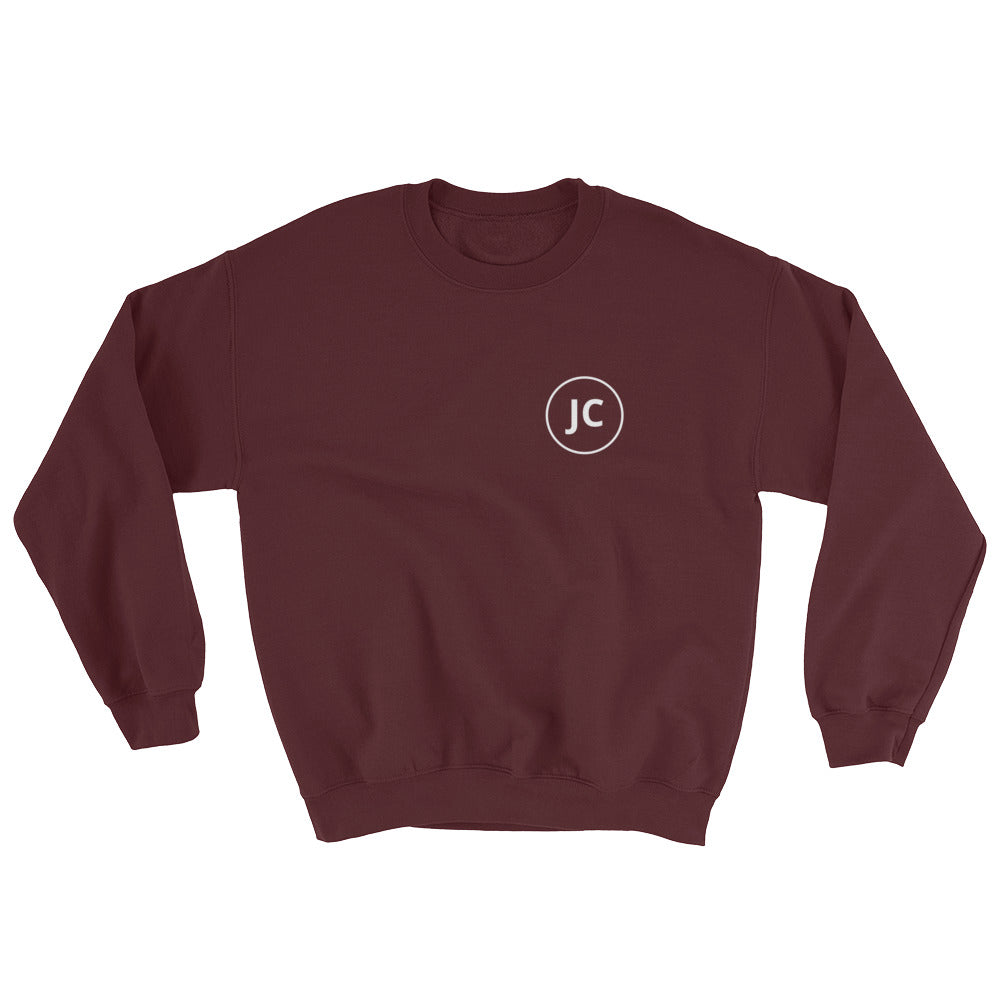 """JC"" Sweatshirt - Aligned Blessings.com"