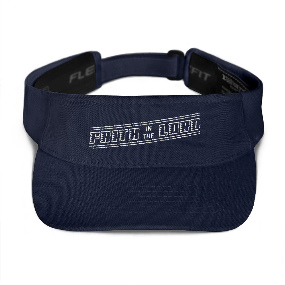 """Faith in the Lord"" Visor - Aligned Blessings.com"