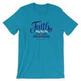 """Faith Can Move Mountains"" Jersey Tee - Aligned Blessings.com"