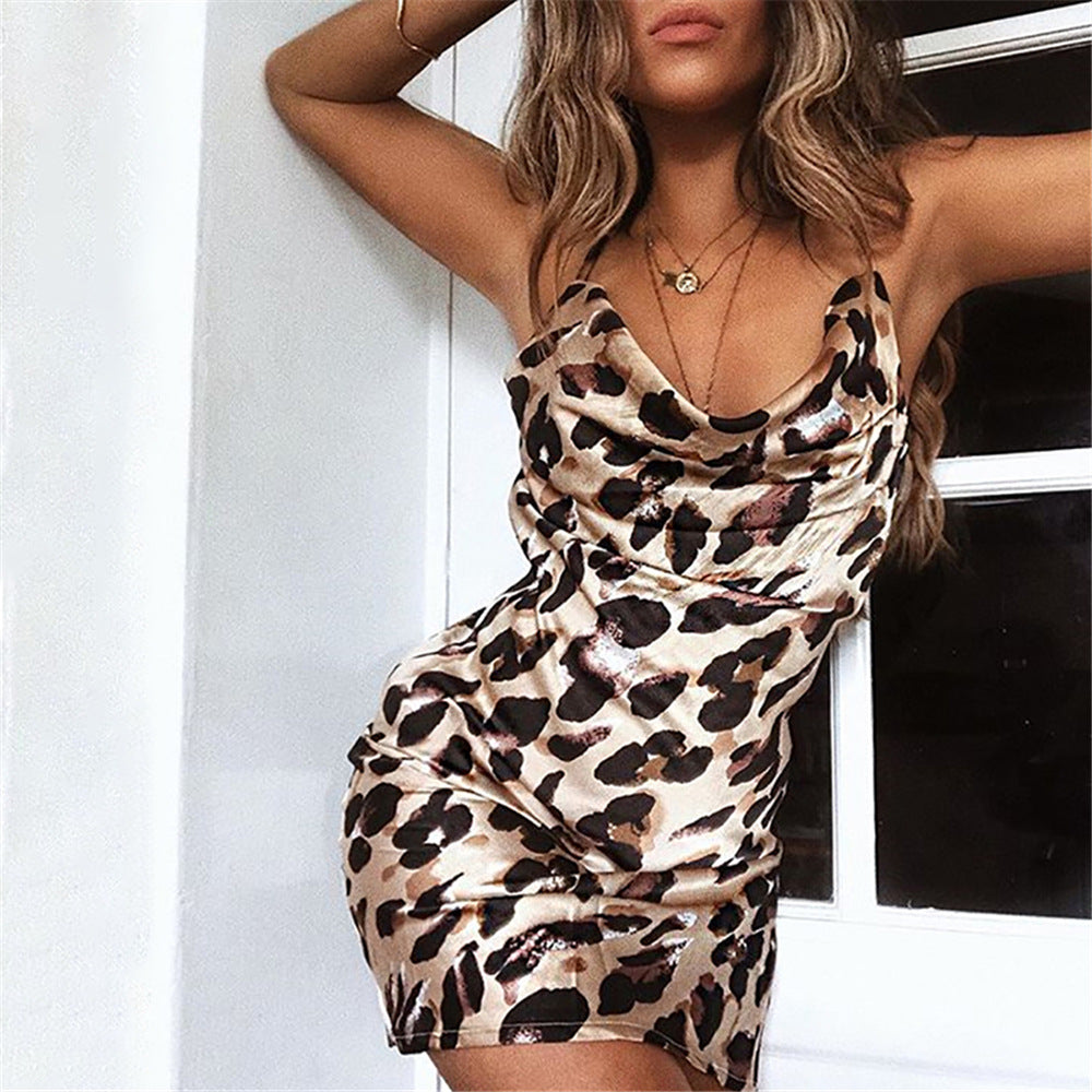 Wild Side Leopard Print Slip Dress - About Last Night