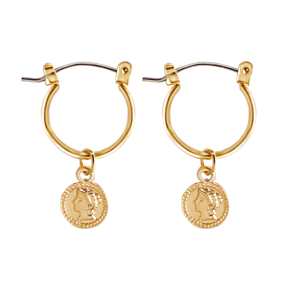 Circle Coin Earrings - About Last Night