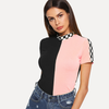 It's A Neon Vibe Off Shoulder Crop