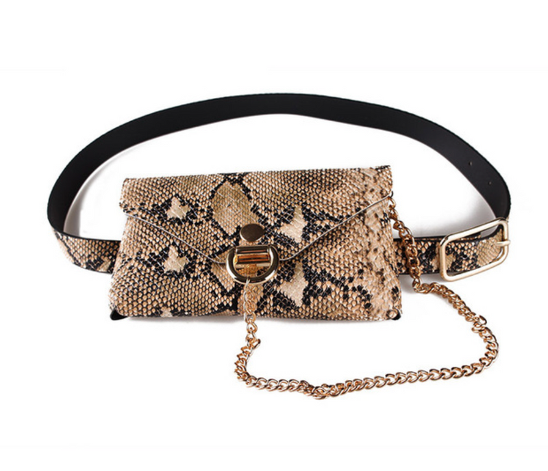 Bag It Up Chain Waist Bag - About Last Night