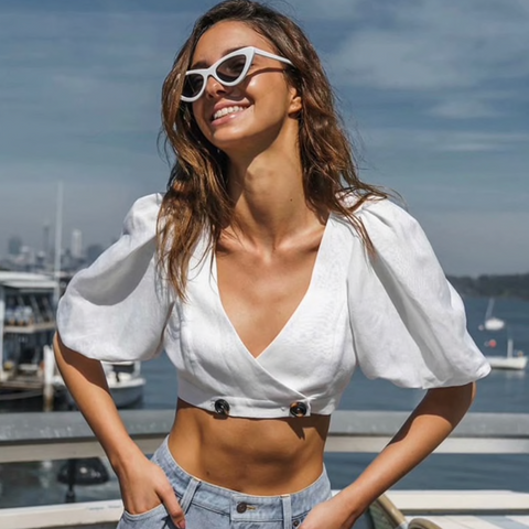 Turning Japanese Cropped Top