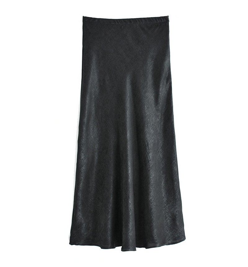 Lily The Slip Midi Skirt - About Last Night
