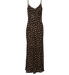 Love Myself Snake Print Mesh Maxi Dress
