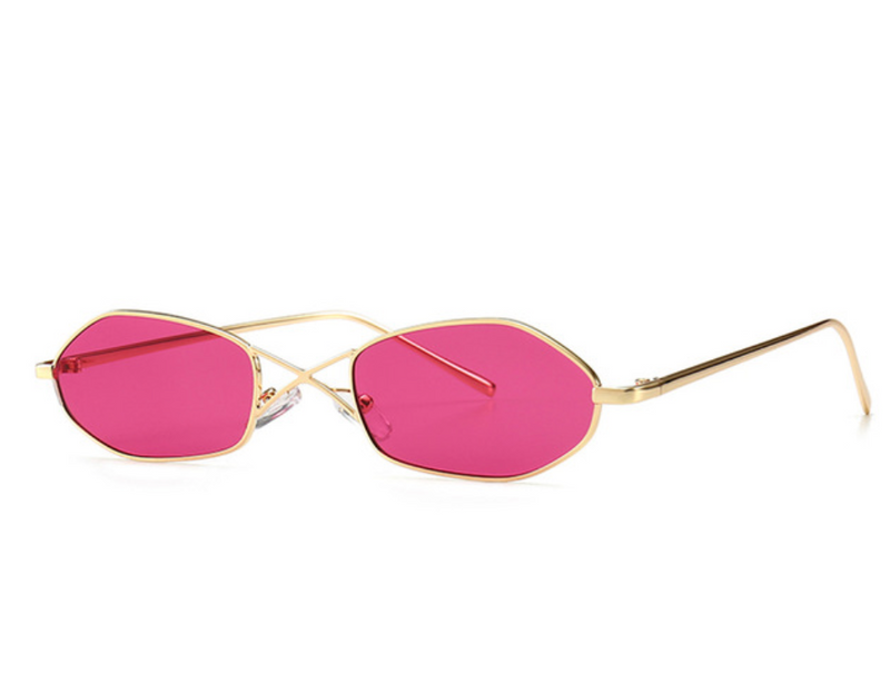 Round In Circles Skinny Sunglasses - About Last Night