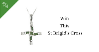 The Legend of St Brigid's Cross & Win a Stunning Piece of Celtic Jewelry