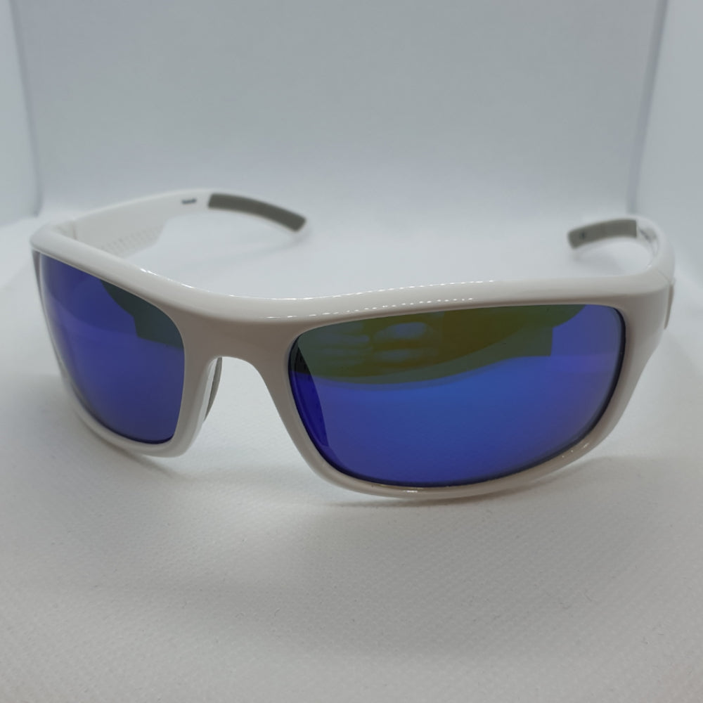 Reebok Sports Style White Blue Lenses