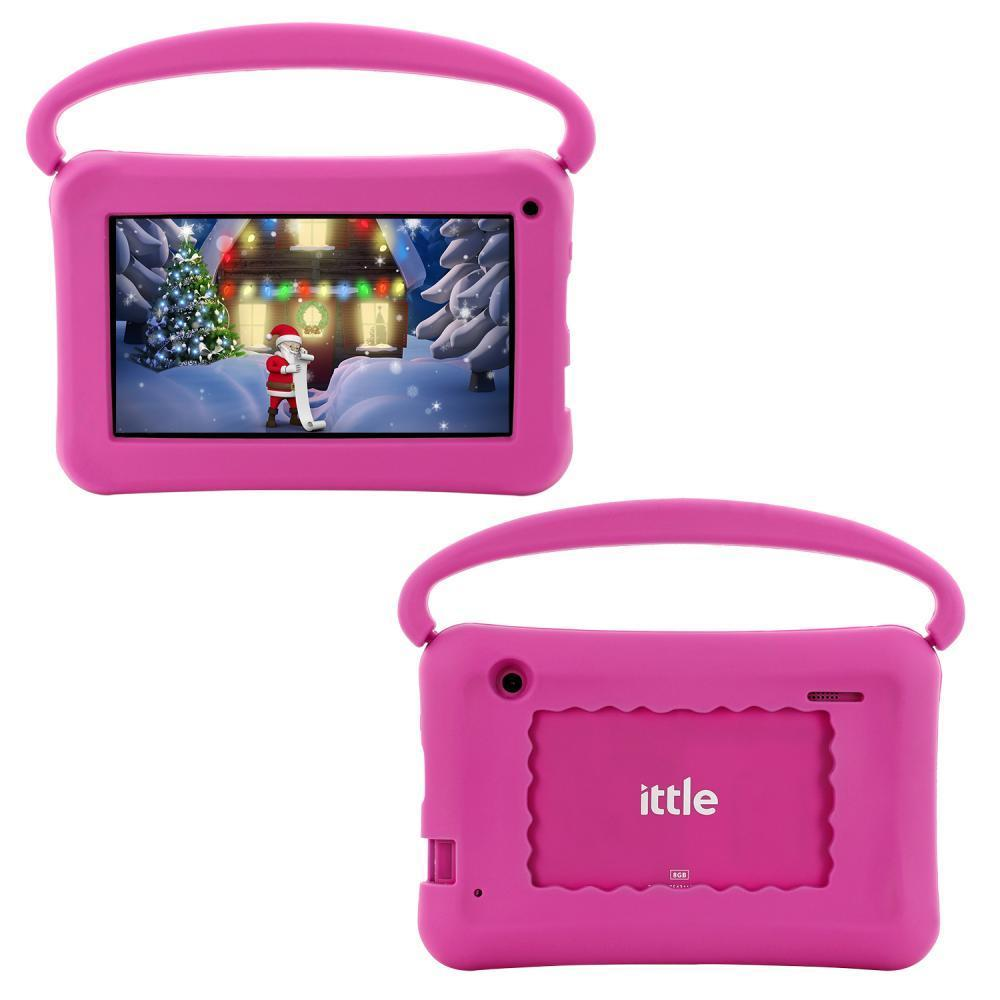 "ittle® Kids Handle 7"" Quad Core Tablet"