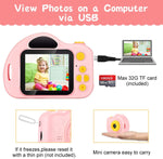 Kids Camera Vatenic - IPS Screen - Video Photo Capture Built in Battery - SD Card - 2 Colours
