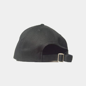 Triple Black Sabr/Patience Distressed Arabic Cap - Cave London