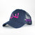 London/LDN Pink on Navy Arabic Cap - jubbas.com