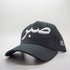 White on Black Sabr [Patience] Distressed Arabic Cap