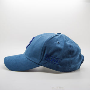 Triple Navy WOW Suede Arabic Cap - Cave London