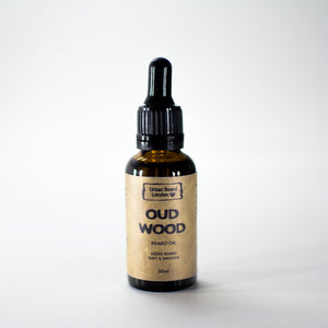 Oud Wood Beard Oil 30ml - jubbas.com