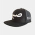 Limited Edition Black Sabr/Patience Flat Peak Arabic Cap