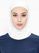 White Sports Hijab - jubbas.com