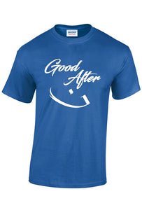 Navy Blue Good Afternoon T-shirt - jubbas.com