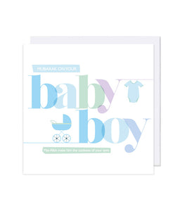 Baby Boy Card - jubbas.com
