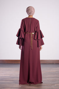 BURGUNDY DRESS - jubbas.com