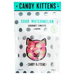 Candy Kittens Sour Watermelon | 138gm - jubbascom