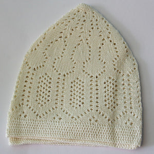 Beige Prayer Hat - jubbascom
