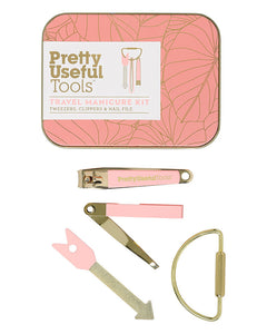 Pretty Useful Tools Travel Manicure Kit - jubbas.com