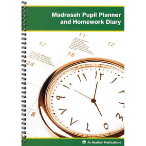 Madrasah Pupil Planner And Homework Diary - jubbas.com