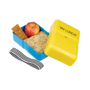 Small Lunch Box Yay Lunch - Happy Jackson - jubbas.com