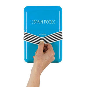 Happy Jackson 'Brain Food' Lunch Box - jubbas.com