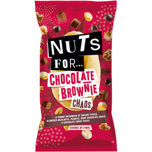 Nuts For Chocolate Brownie Chaos