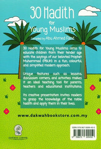 30 Hadith For Young Muslims (Ages 7-13) - jubbas.com